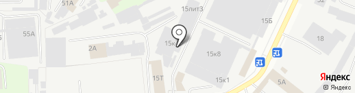 Астер на карте Перми
