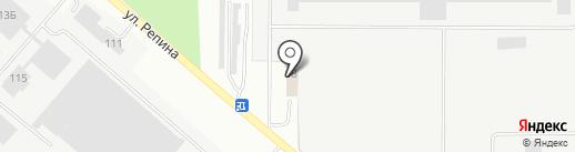 ЭлизТранс на карте Перми