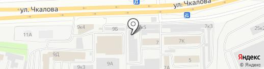 Тендер на карте Перми