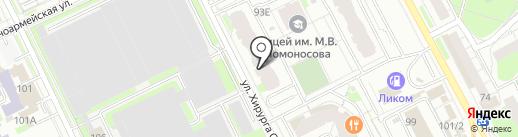 CatLand на карте Перми