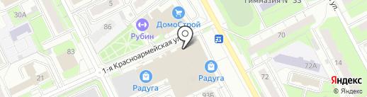 Матрона на карте Перми