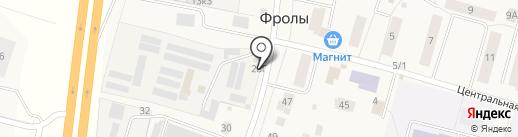 Агрофирма Усадьба на карте Фролов