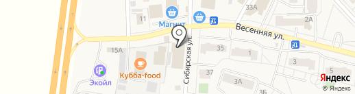 Сеть продуктовых магазинов на карте Фролов