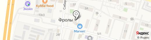 Ветка на карте Фролов