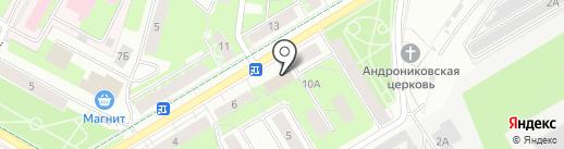 Эдельвейс на карте Перми