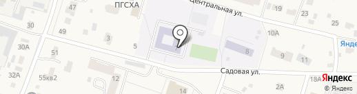 Фроловская средняя общеобразовательная школа на карте Фролов