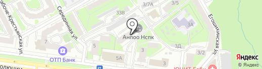 Уральский институт повышения квалификации и переподготовки на карте Перми