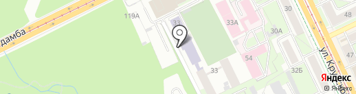 Грация на карте Перми