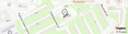 Монолит Инвест на карте Перми