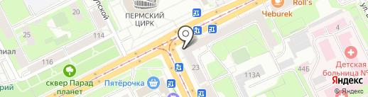 Мастер Ключ на карте Перми