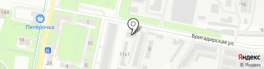 ДАР на карте Перми