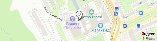 ПермПолис на карте Перми