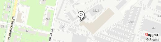Камос-Лайн на карте Перми