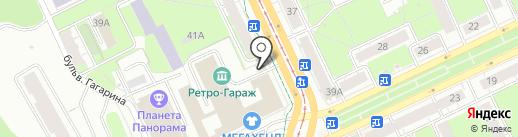 Алекс-Пресс на карте Перми