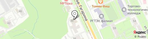 АРЕС-УРАЛЬСКИЙ на карте Перми