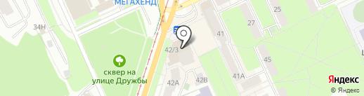 ГифтФикс на карте Перми