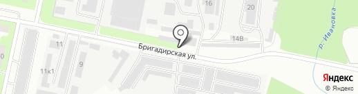 Новый Свет на карте Перми