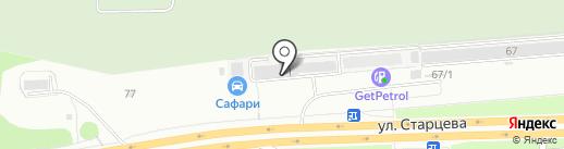 БПН на карте Перми