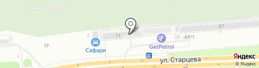 Автомастерская экспресс-ремонта на карте Перми