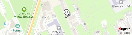 ВетМастер на карте Перми
