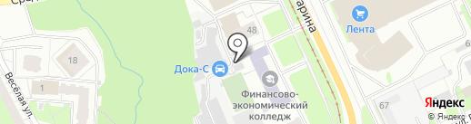 Автомастерская на карте Перми