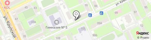 Пермская краевая Федерация рукопашного боя на карте Перми