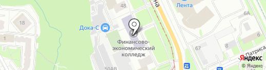 Пермский финансово-экономический колледж на карте Перми