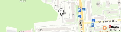 Центр хранения шин на карте Перми