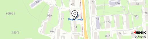 Народный, ПК на карте Перми