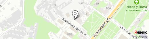 АБВ на карте Перми