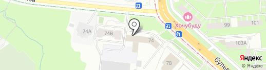 Пермский технический центр безопасности дорожного движения, ЧОУ ДПО на карте Перми