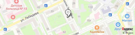 Пивной бочонок на карте Перми