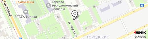 Альянс-Пермь на карте Перми