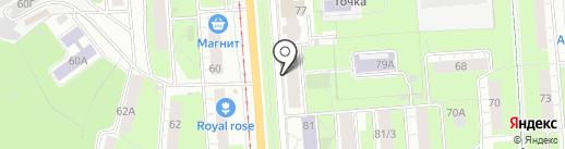 Ура на карте Перми