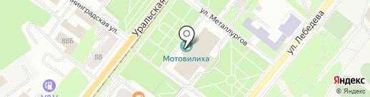 АСИС на карте Перми