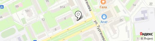Tupperware на карте Перми