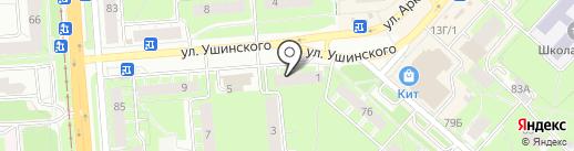 Шаурма по-пермски на карте Перми