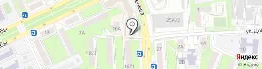 Магазин зоотоваров и трикотажа на карте Перми