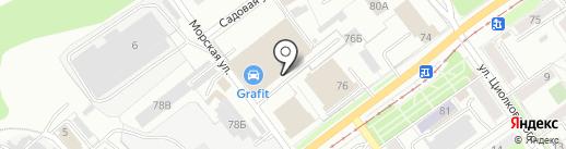 Кузов-авто на карте Перми
