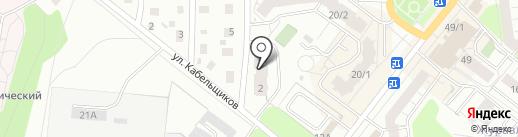 Вита на карте Перми