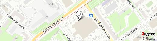 ЛЕС ЧУДЕС на карте Перми