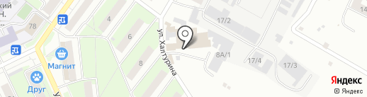 Оптимум на карте Перми