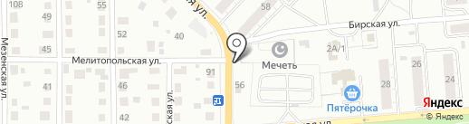 Магазин халяльных продуктов на карте Перми