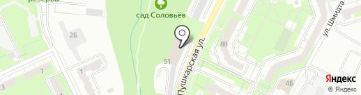 ПК СЕРВИС на карте Перми