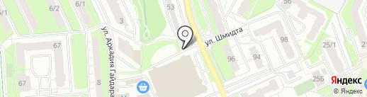 Автосервис на карте Перми