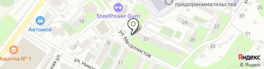 Новоселы на карте Перми