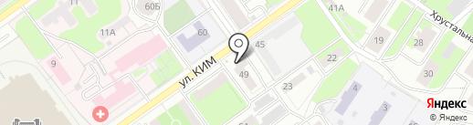 Origami Пермь на карте Перми
