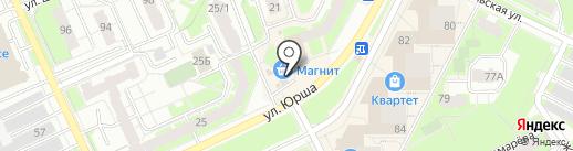 Магазин товаров для праздника на карте Перми