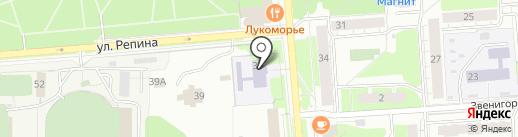Автоклуб на карте Перми