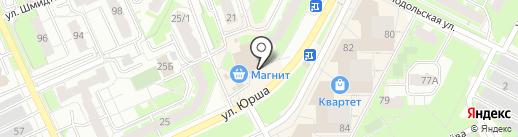 Отделкин на карте Перми